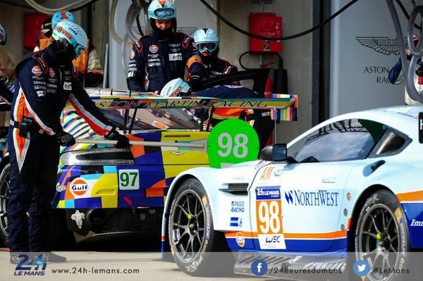 24h Le Mans 2015 : Aston Martin Racing