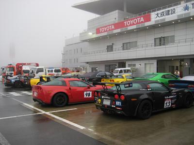 レース当日のFSW