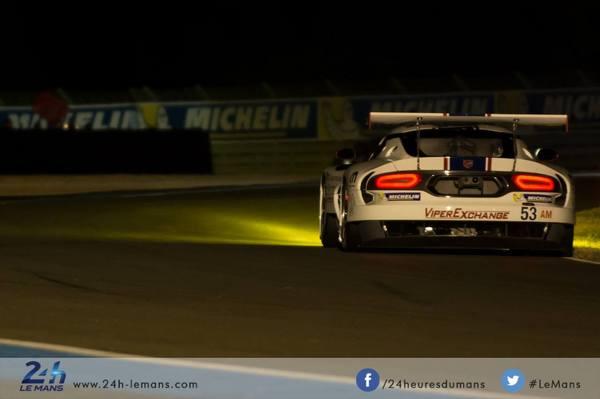 24h Le Mans 2015 : Srt VIPER GTS-R
