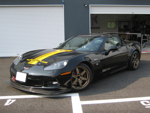 CORVETTE Z06 with Rays TE37