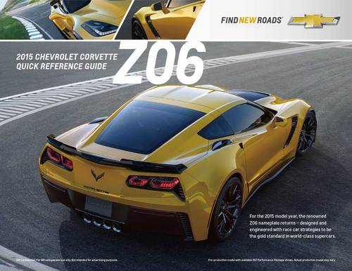 corvette c7 z06 catalogue